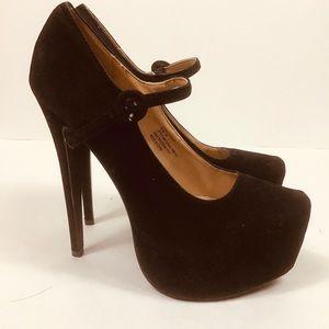 Charles Albert Mary Jane Platform Heels